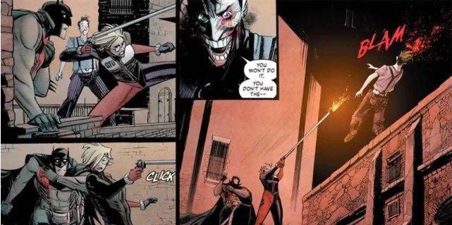 harley quinn mata al joker